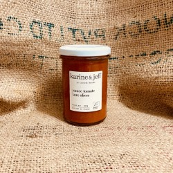 Sauce tomate aux olives - 255g